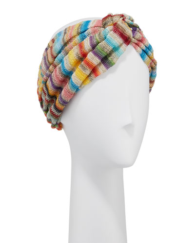Multi-Stripe Knotted Headband