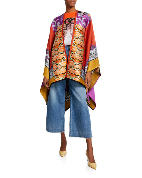 Collage Patchwork Cape