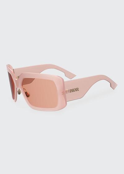 SoLight Chunky Rectangle Sunglasses
