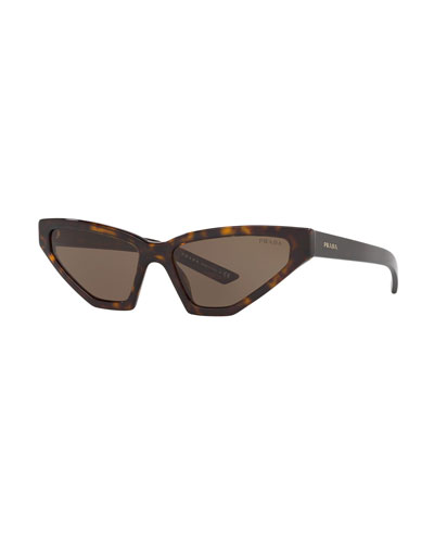 Slim Butterfly Acetate Sunglasses