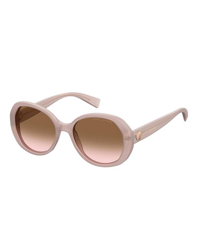 Square Gradient Acetate Sunglasses