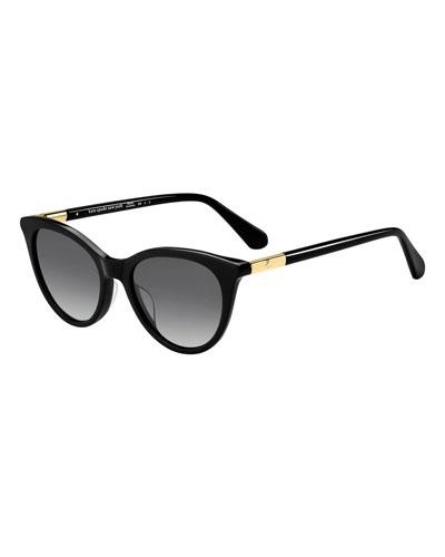 janalynn cat-eye sunglasses - polarized