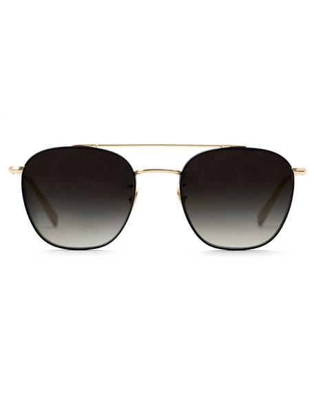Titanium Aviator Sunglasses