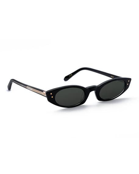 KREWE Fern Cat-Eye Sunglasses