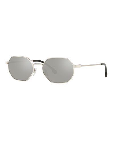 Octagon Metal Sunglasses