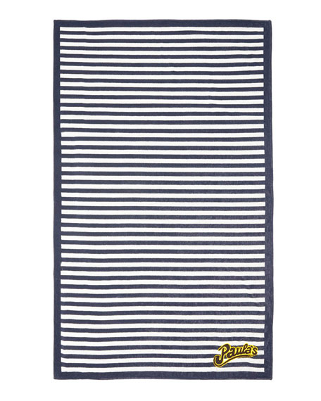 x Paula's Ibiza Striped Towel