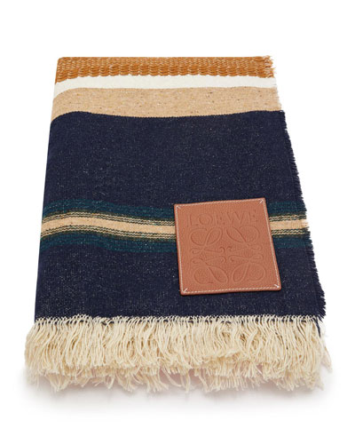 x Paula's Ibiza Striped Blanket