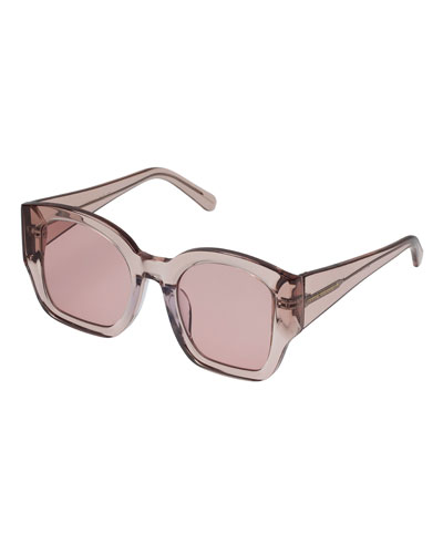 5f7a3f88113d Check Mate Oversized Square Sunglasses Quick Look. Karen Walker