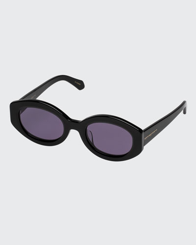 1871aad1e645 Bishop Oval Acetate Sunglasses Quick Look. Karen Walker
