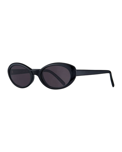 6041c7abcc Seattle Oval Acetate Sunglasses Quick Look. Illesteva