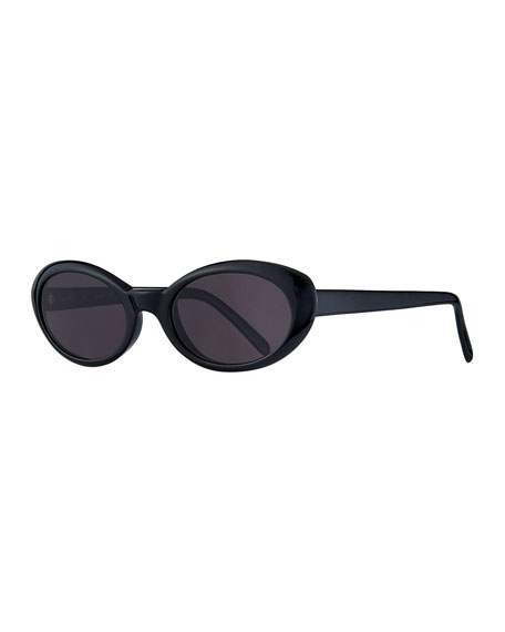 Illesteva Sunglasses SEATTLE OVAL ACETATE SUNGLASSES