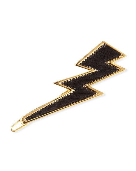 Mignonne Gavigan 14K Gold Threaded Lightning Bolt Hair