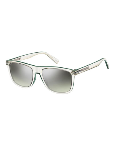 Mirrored Transparent Optyl Sunglasses