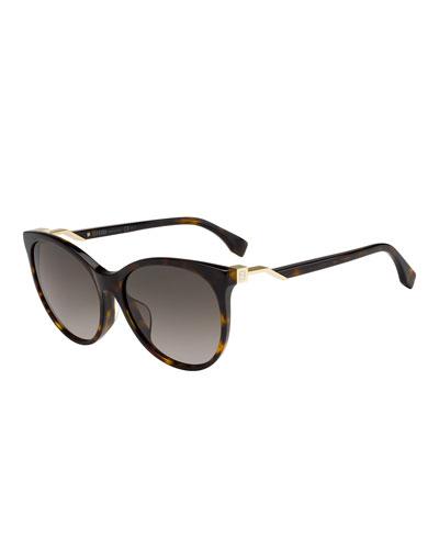 Round Gradient Sunglasses