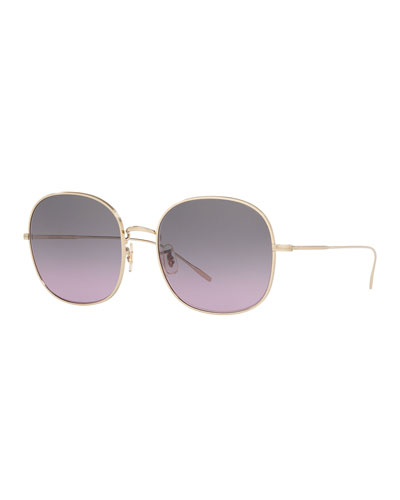 b08793a85c Oliver Peoples Women s Sunglasses   Round   Mirrored at Bergdorf Goodman