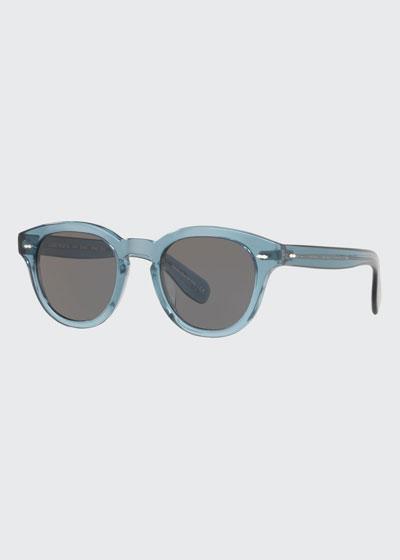 Cary Grant Oval Acetate Sunglasses
