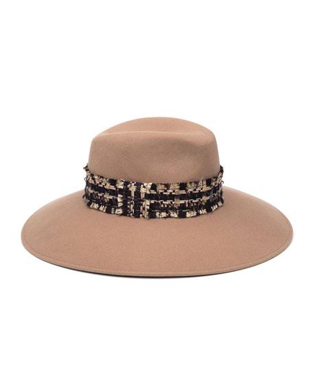 a1ca8d23114eef Eugenia Kim Emmanuelle Wool Fedora Hat