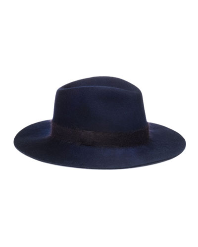 Georgina Wool Fedora Hat