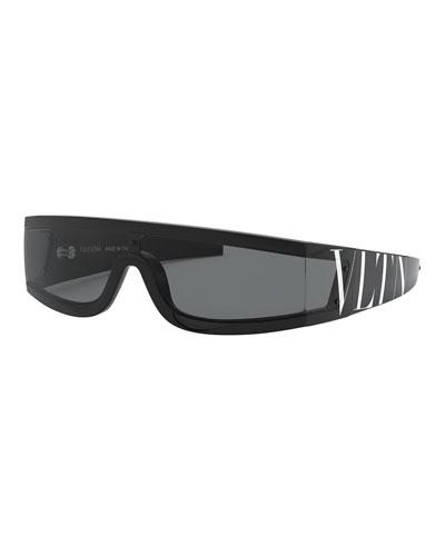 2c3265f08ddfb Shield Wrap Logo Sunglasses Quick Look. Valentino