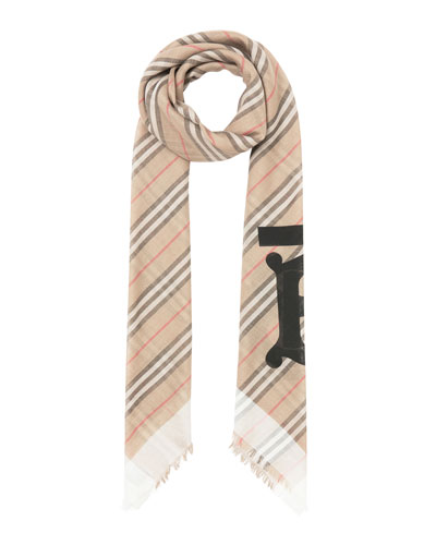 Heritage Faded Icon Stripe Scarf