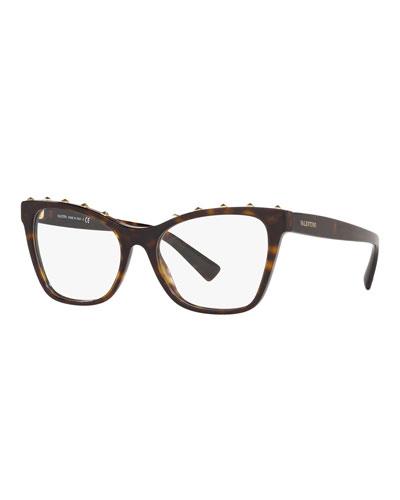 c050efed08755 Acetate Rockstud Optical Frames Quick Look. Valentino