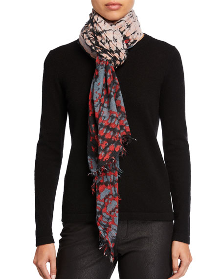 Delta Wild Multicolored Scarf
