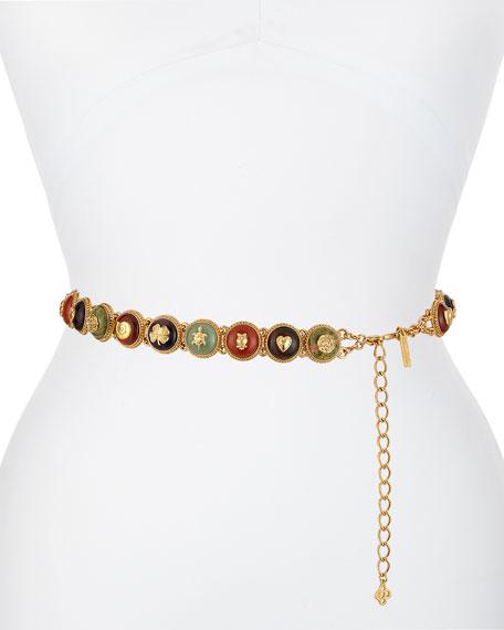 Circle-Chain Belt