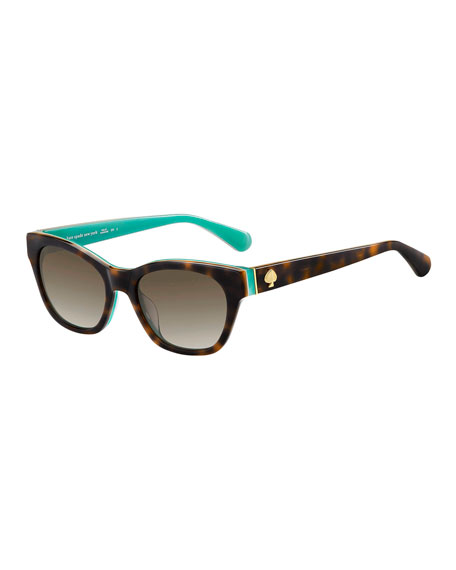 a4529b38f7fb kate spade new york jerris rectangle acetate sunglasses