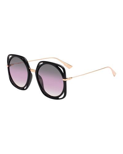 e06506035a38b Dior Sunglasses   Mirrored   Cat-Eye Sunglasses at Bergdorf Goodman