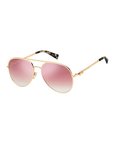 Daisy 2S Mirrored Aviator Sunglasses