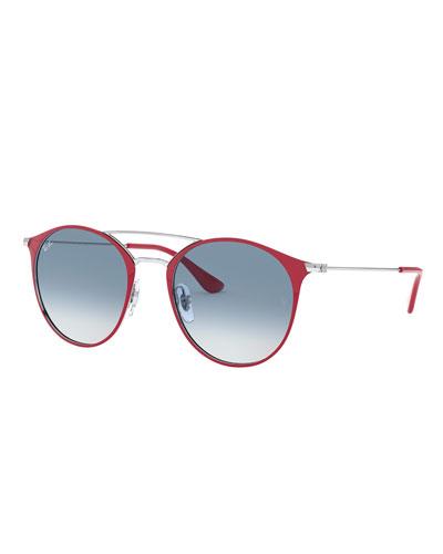Round Steel Sunglasses