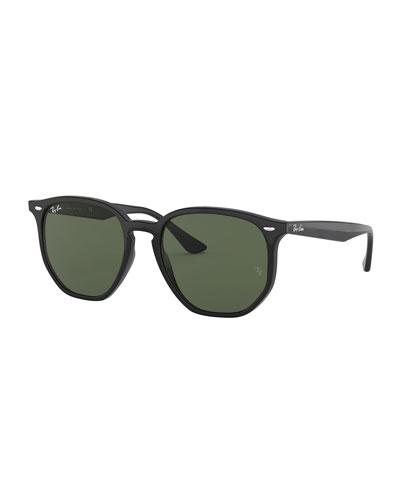 Rectangle Monochromatic Sunglasses