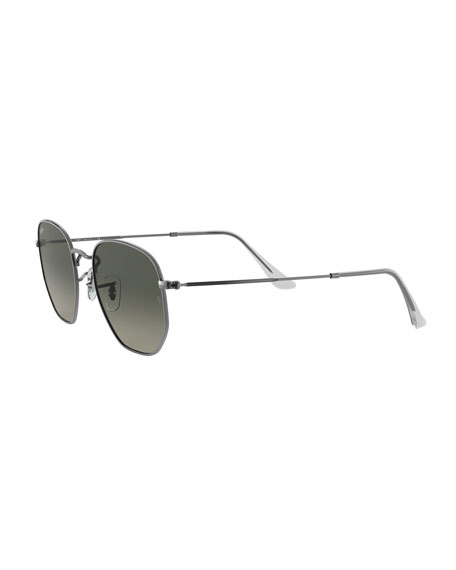 Square Steel Monochromatic Sunglasses