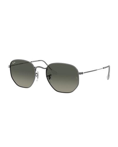 Square Steel Monochromatic Sunglasses