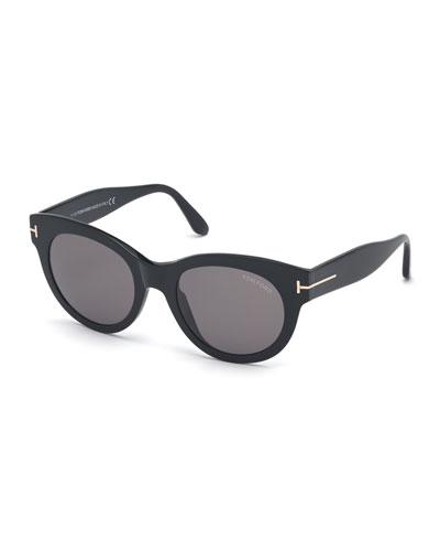 Lou Round Acetate Sunglasses