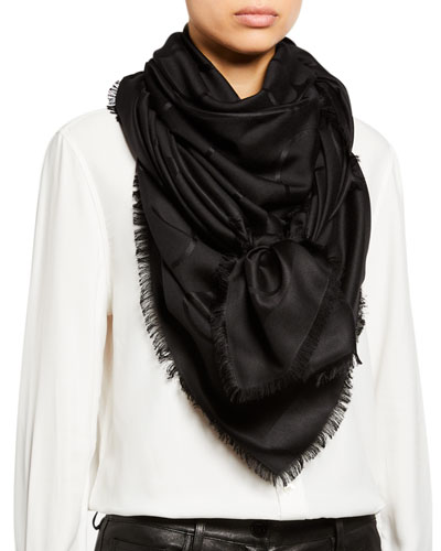 VLOGO Silk-Wool Shawl
