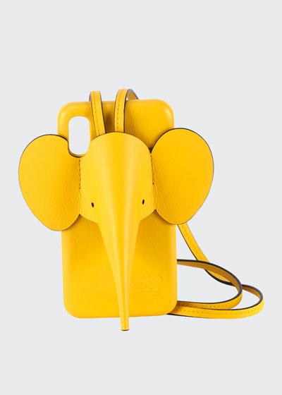 Elephant Crossbody Phone Case for iPhone® XS