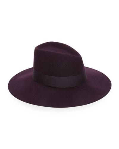 Harlowe Wool Fedora Hat