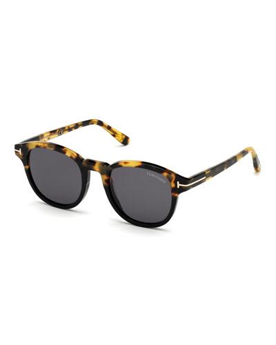 Jameson Round Acetate Sunglasses