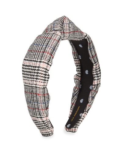 Tweed Knotted Headband
