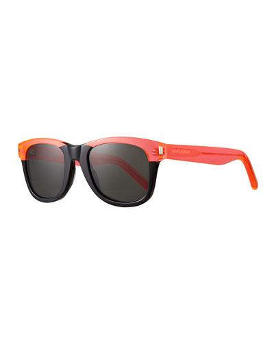 SL 51 Square Acetate Sunglasses