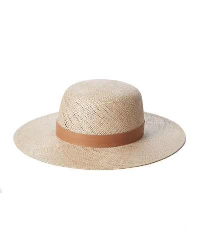 Kerry Straw Fedora Hat