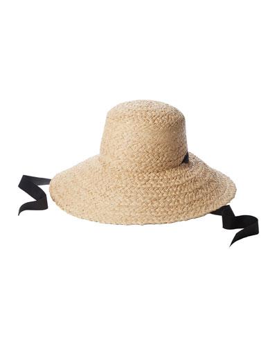 Sammy Floppy Straw Hat