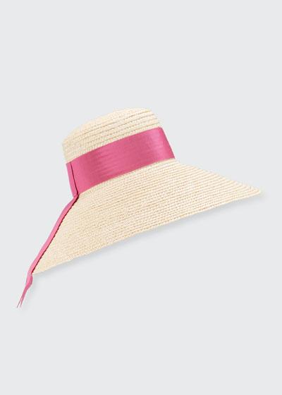 Mirabel Large Brim Straw Hat