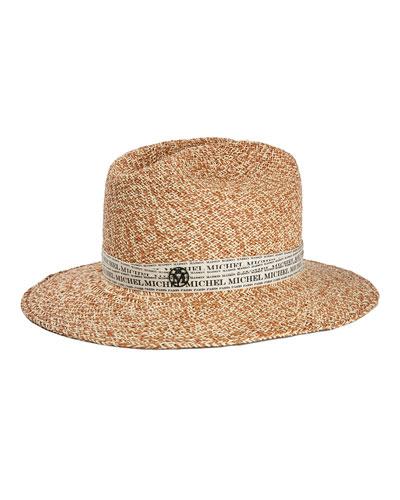 Henrietta Logo Tape Fedora Hat