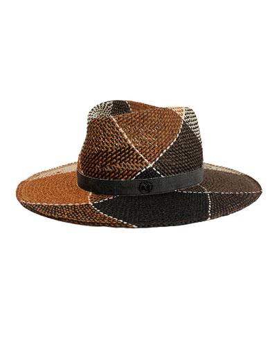 Charles Colorblock Fedora Hat