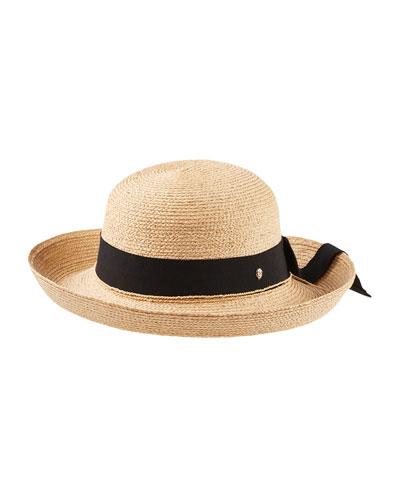 Newport Raffia Stand Hat