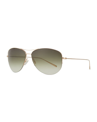 Strummer Titanium Aviator Sunglasses