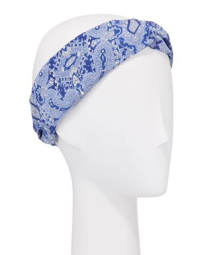 Paisley Print Headband