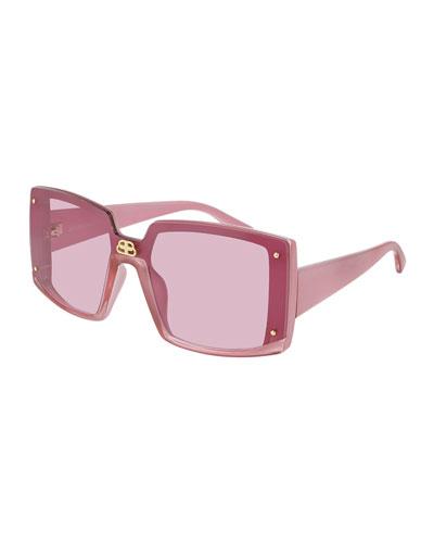 Rectangle Shield Sunglasses